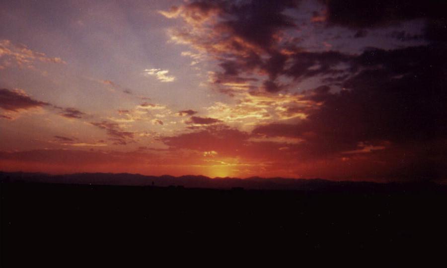 Dubois sunset